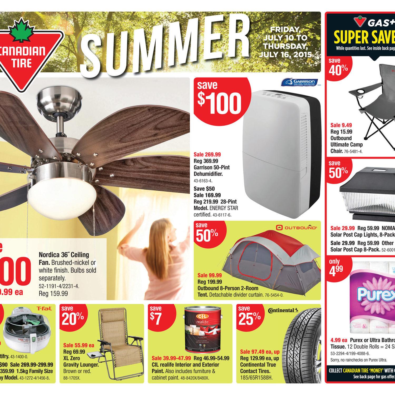 Canadian Tire Weekly Flyer - Weekly Flyer - Jul 10 – 16