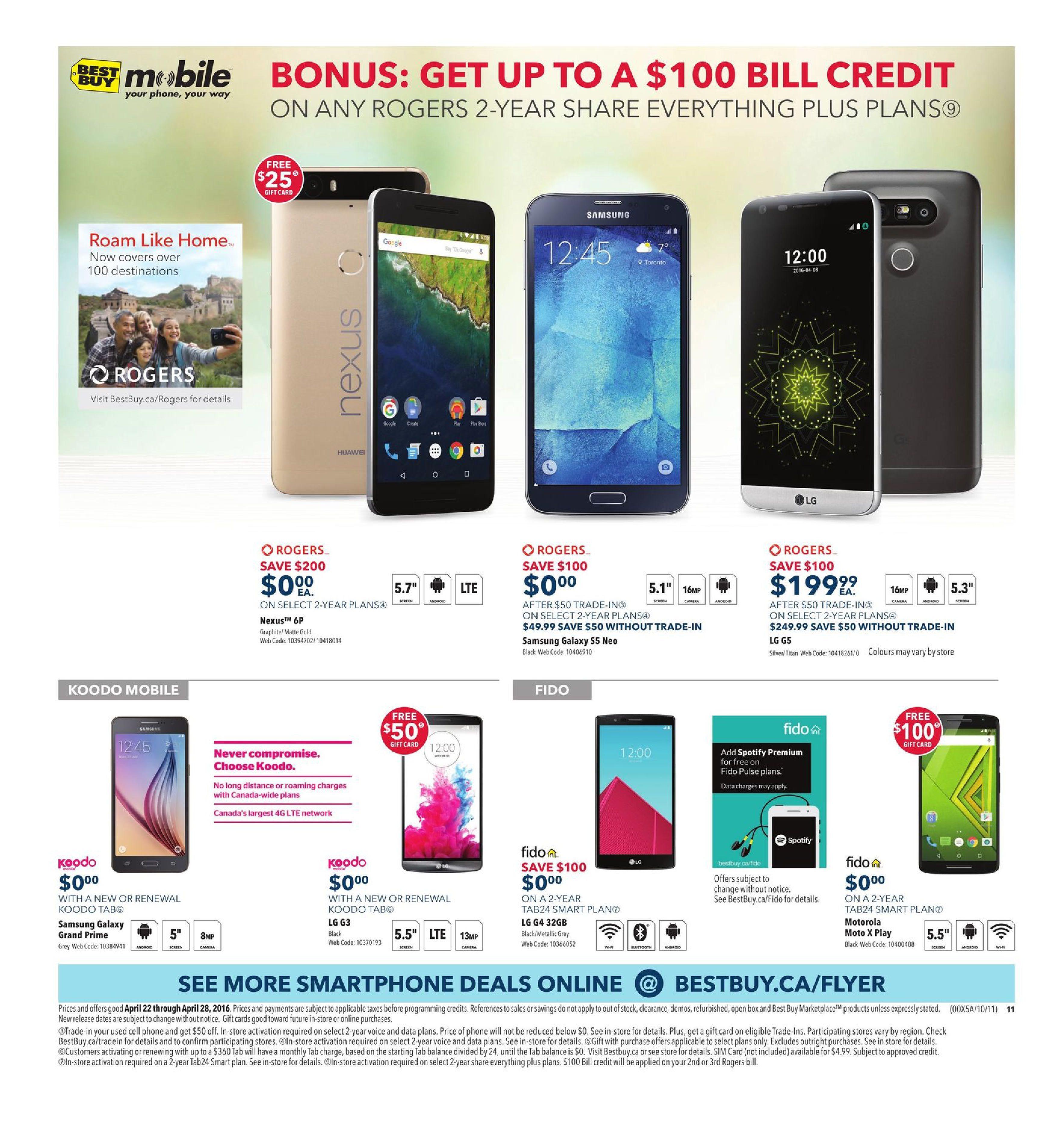 Best Buy Weekly Flyer - Weekly - Work Smart, Save Smarter