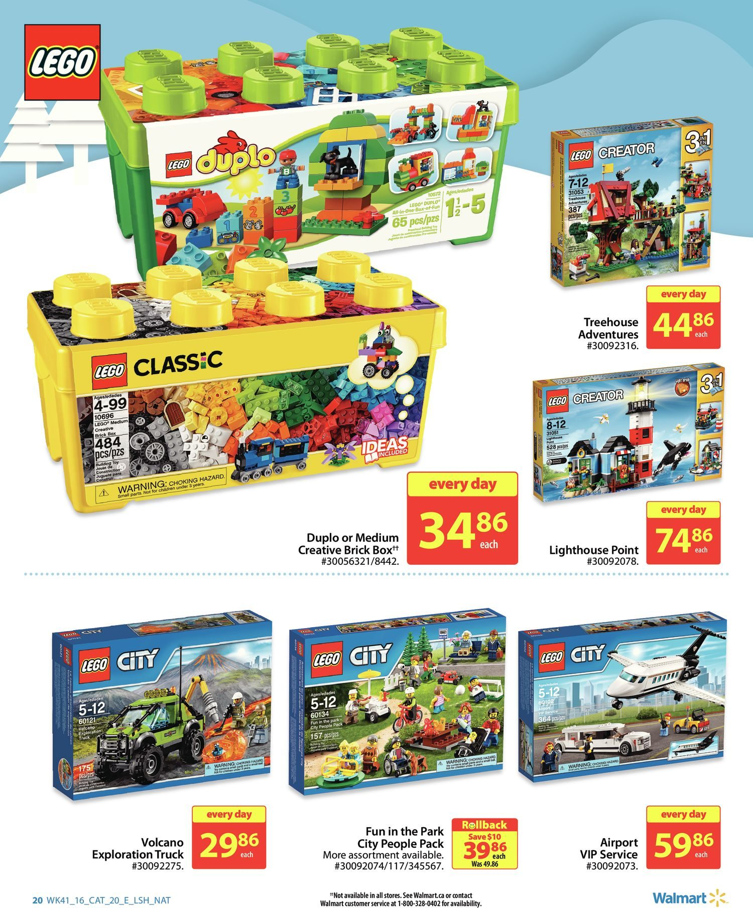 Walmart Weekly Flyer - All Set to Play Book - Nov 3 – 16