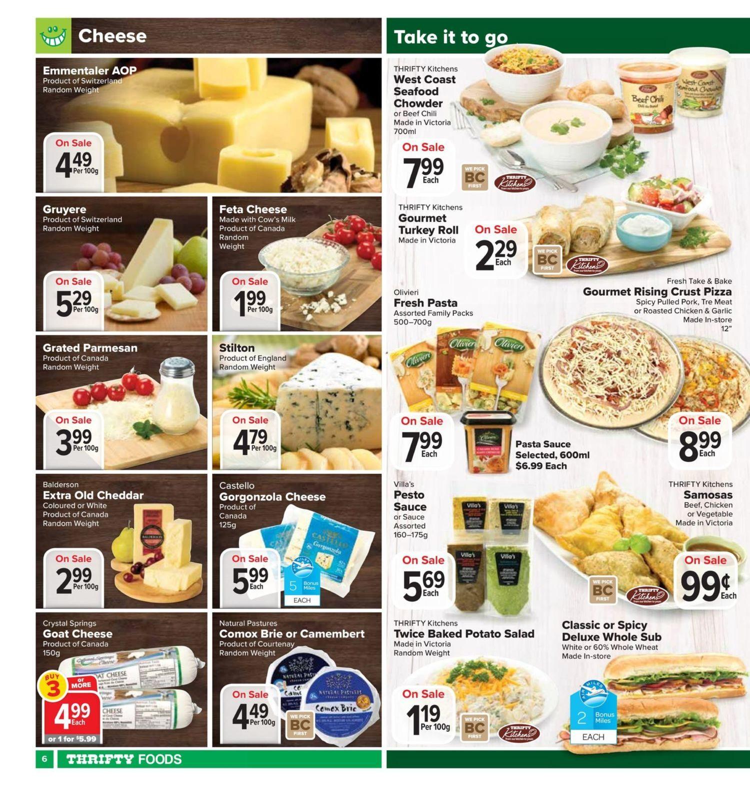 Thrifty Foods Weekly Flyer Apr 26 May 2 Greenfields Yogurt Mango 125g