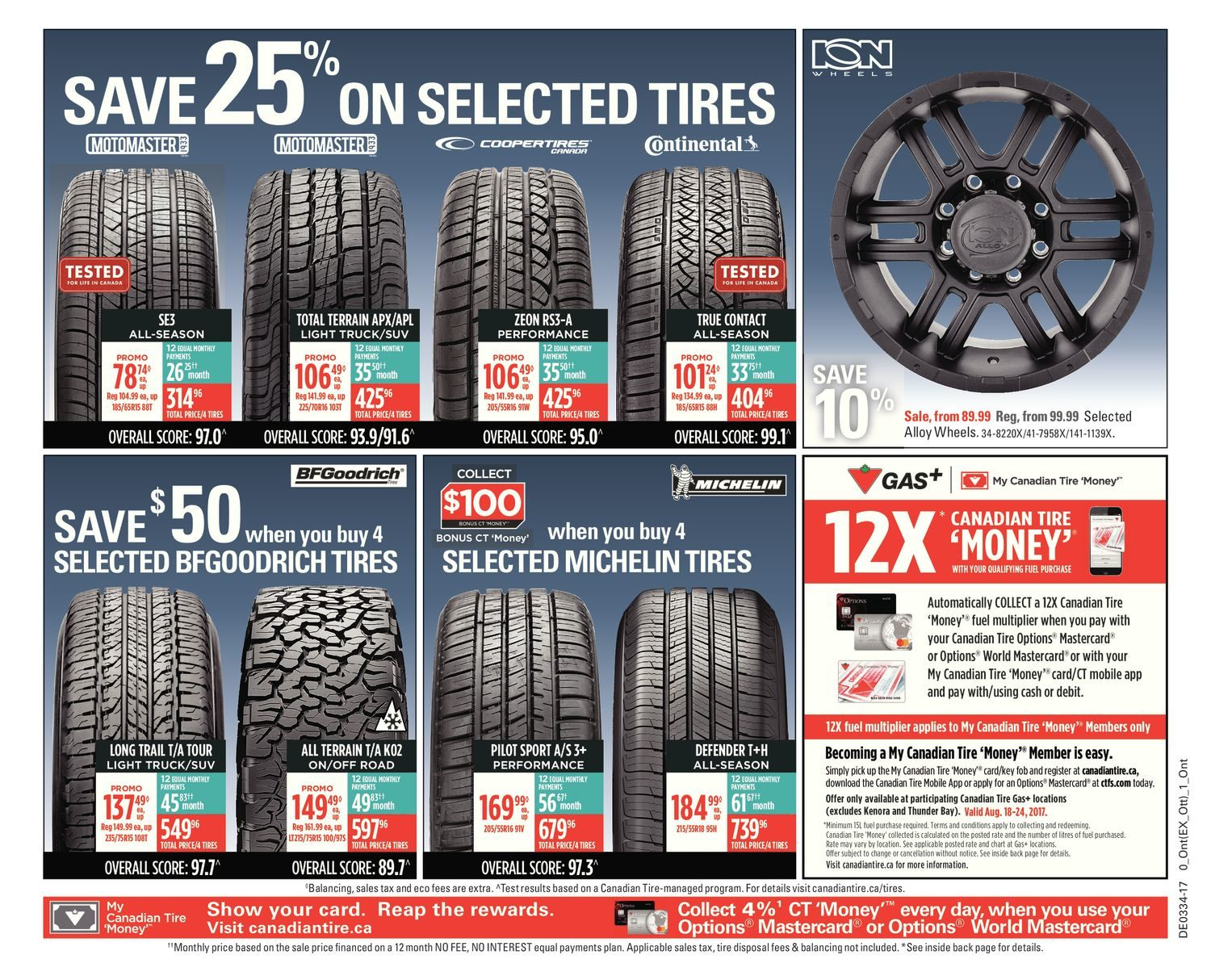 Canadian Tire Weekly Flyer Weekly Back To School Aug 18 24