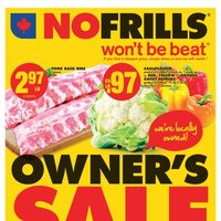 - Weekly - Owner's Sale Flyer