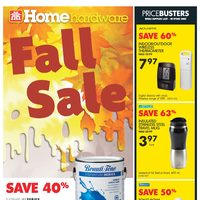 Home Hardware - Weekly - Fall Sale Flyer