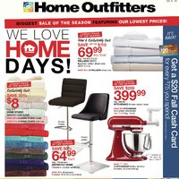 - Weekly - We Love Home Days! Flyer