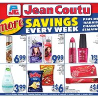 Jean Coutu - More Savings Every Week Flyer