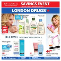 London Drugs - Johnson & Johnson Savings Event Flyer