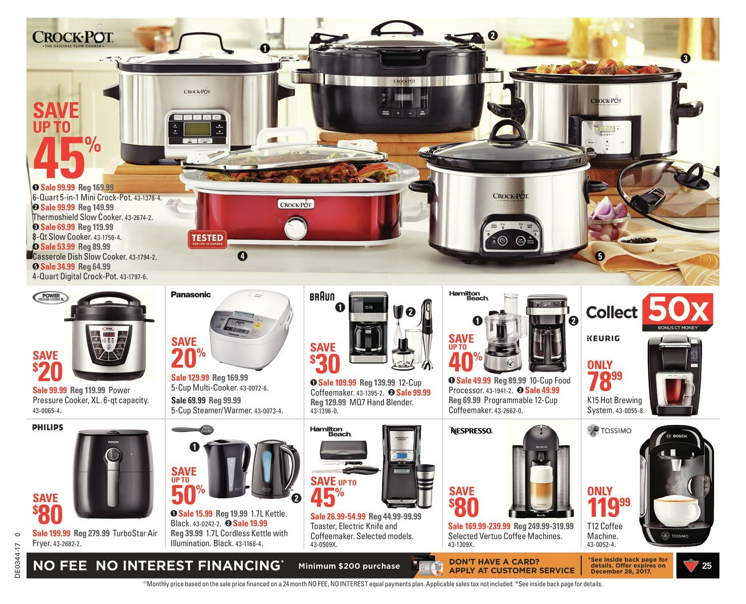 Canadian Tire Weekly Flyer All About Fall Oct 27 Nov Philips Rice Cooker Hd 3118 32 2