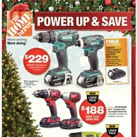 Home Depot - Weekly - Power Up & Save Flyer
