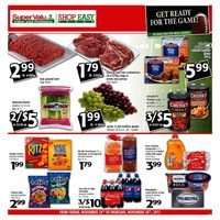 Shop Easy Foods - Weekly Specials - Get Ready for the Game! Flyer