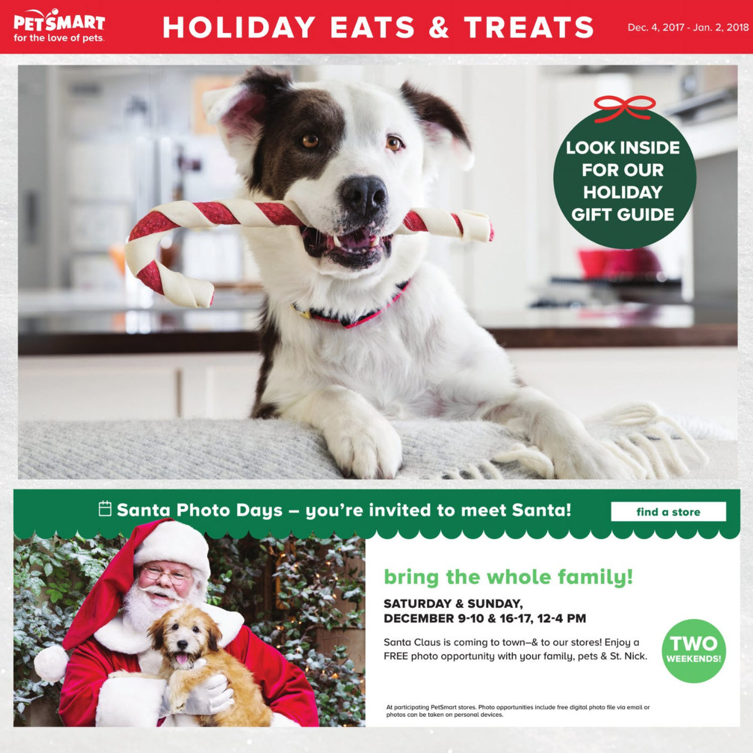 PetSmart Weekly Flyer - Holiday Eats & Treats - Dec 4 – Jan 2 ...