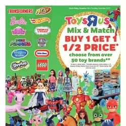Toys R Us - Weekly - Mix & Match Flyer