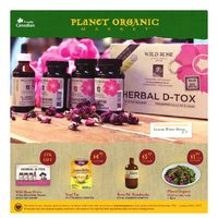 Planet Organic - Monthly Specials Flyer