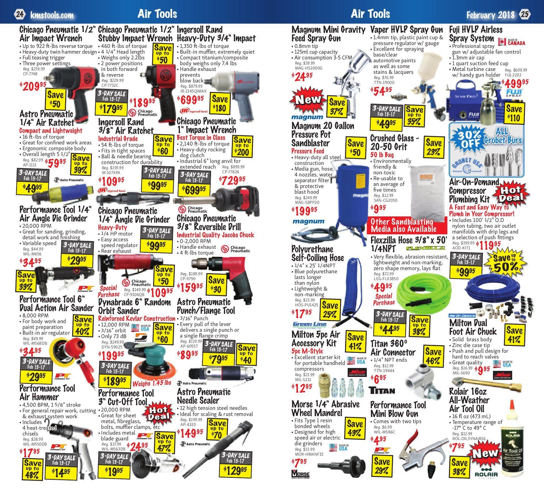 Kms Tools Weekly Flyer Welding Sale Feb 1 28 Wiring 80300 Electrical Connectors Headlight Plug 3wire Pair