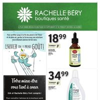 Rachelle-Bery Pharmacy - Your Natural Health Flyer