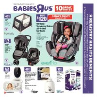 Babies R Us - 10 Great Days! Flyer