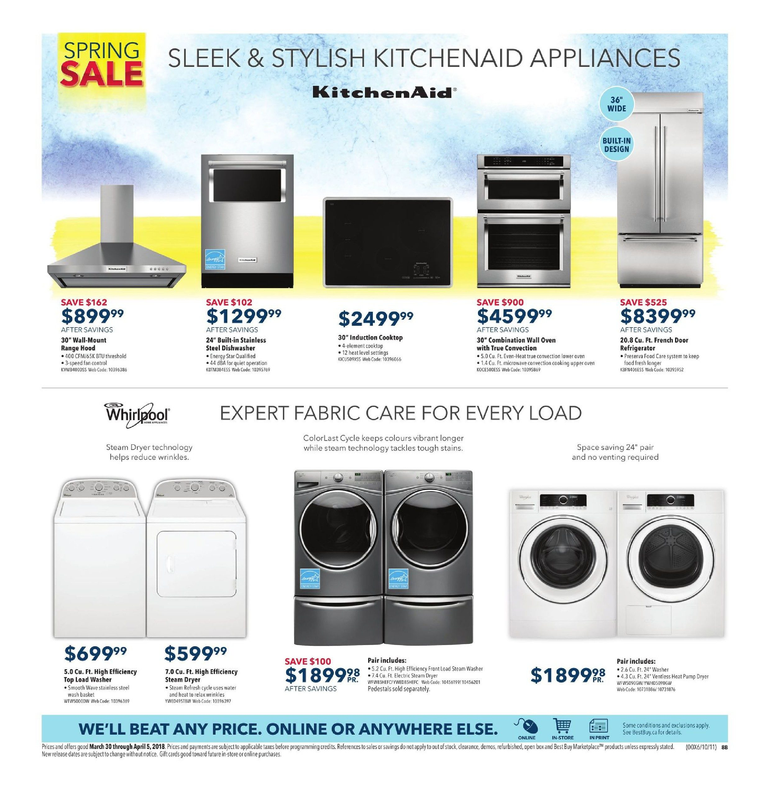 Best Buy Weekly Flyer Spring Sale Mar 30 Apr 5 My Dryer Maytaghas A Three Wire Electric Cord The Wires