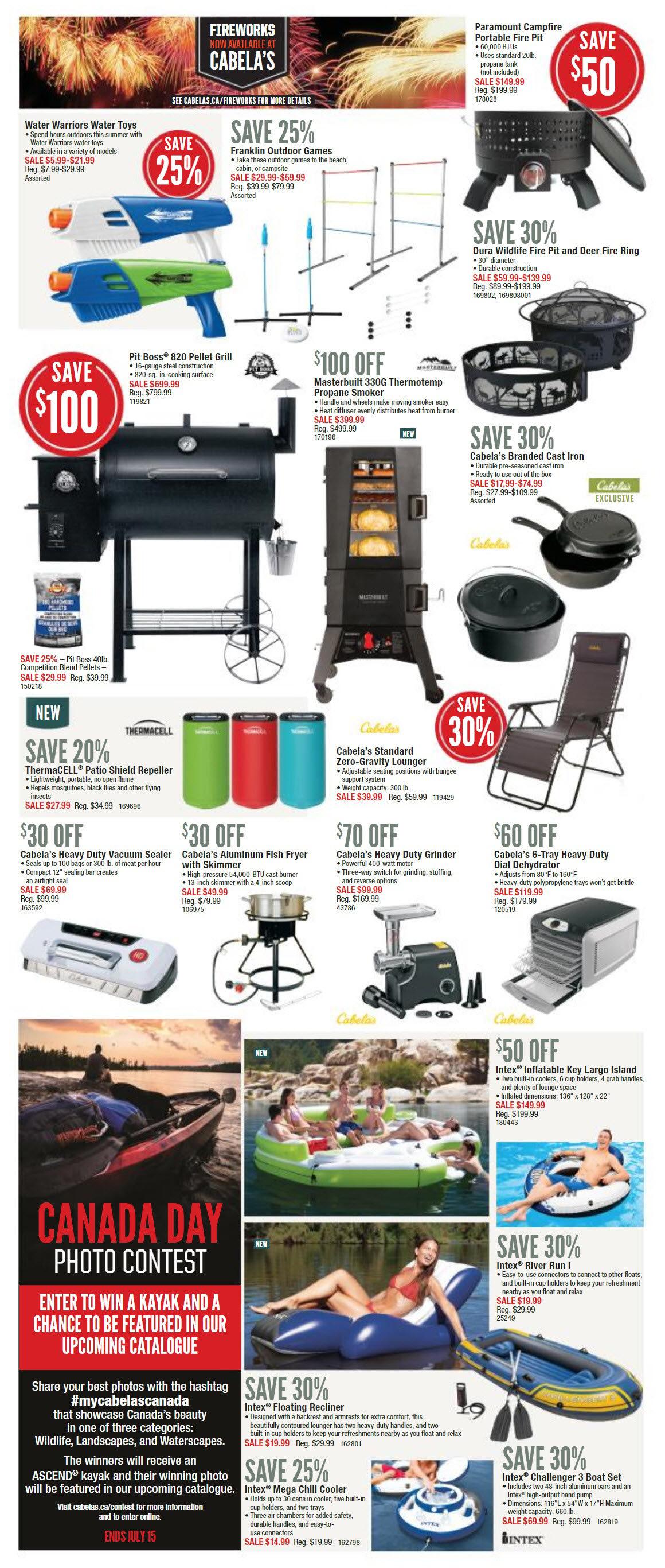 Cabelas Weekly Flyer - Canada Day - Jun 21 – Jul 2