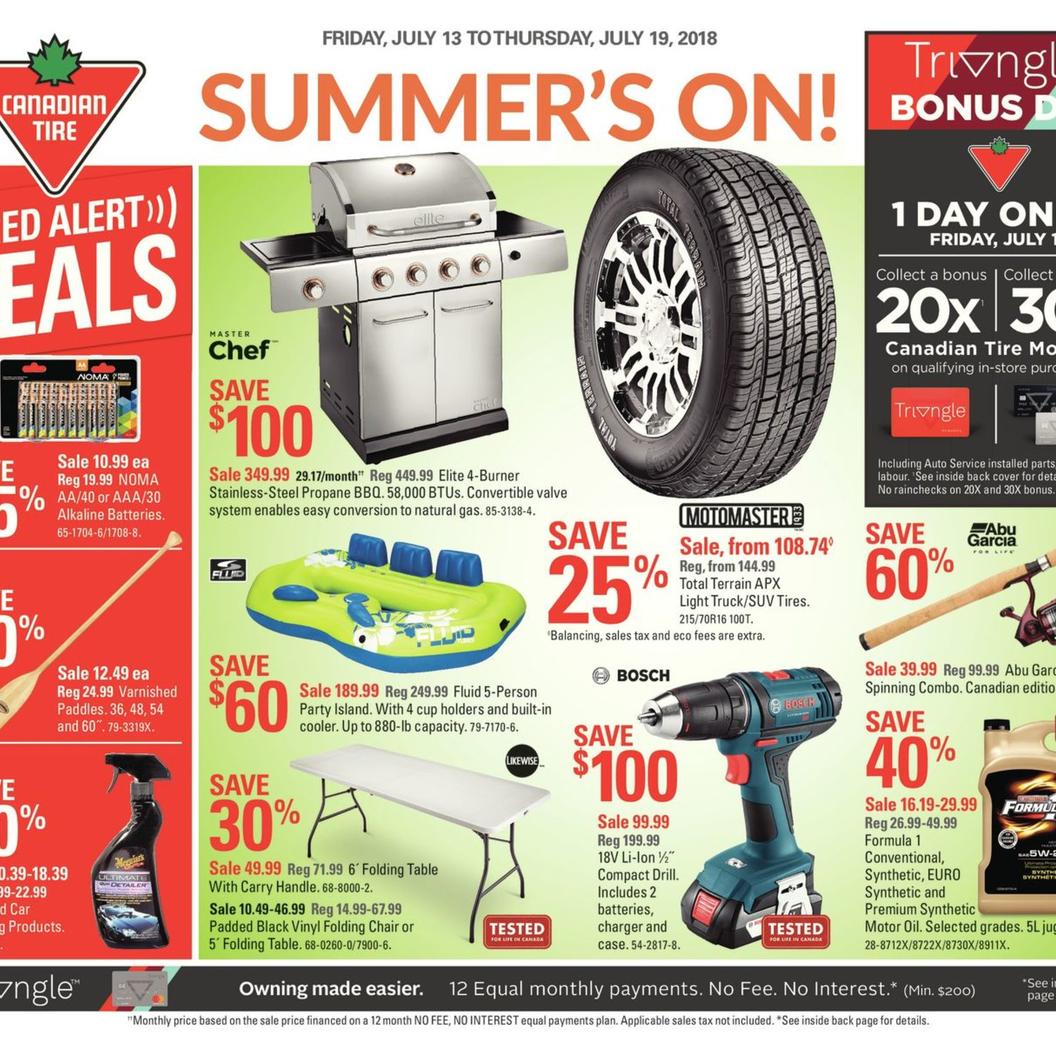 Canadian Tire Weekly Flyer Summer S On Jul 13 19 Redflagdeals Com