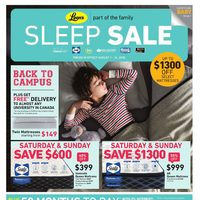 - Part of the Family - Sleep Sale Flyer