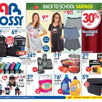 Rossy - Weekly - Back To School Savings Flyer