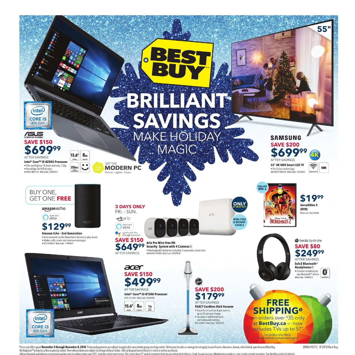 Best Buy Weekly Flyer - Weekly - Brilliant Savings Make