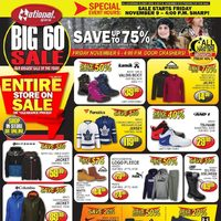 National Sports - Big 60 Sale Flyer