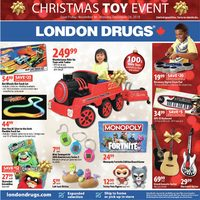 London Drugs - Christmas Toy Event Flyer