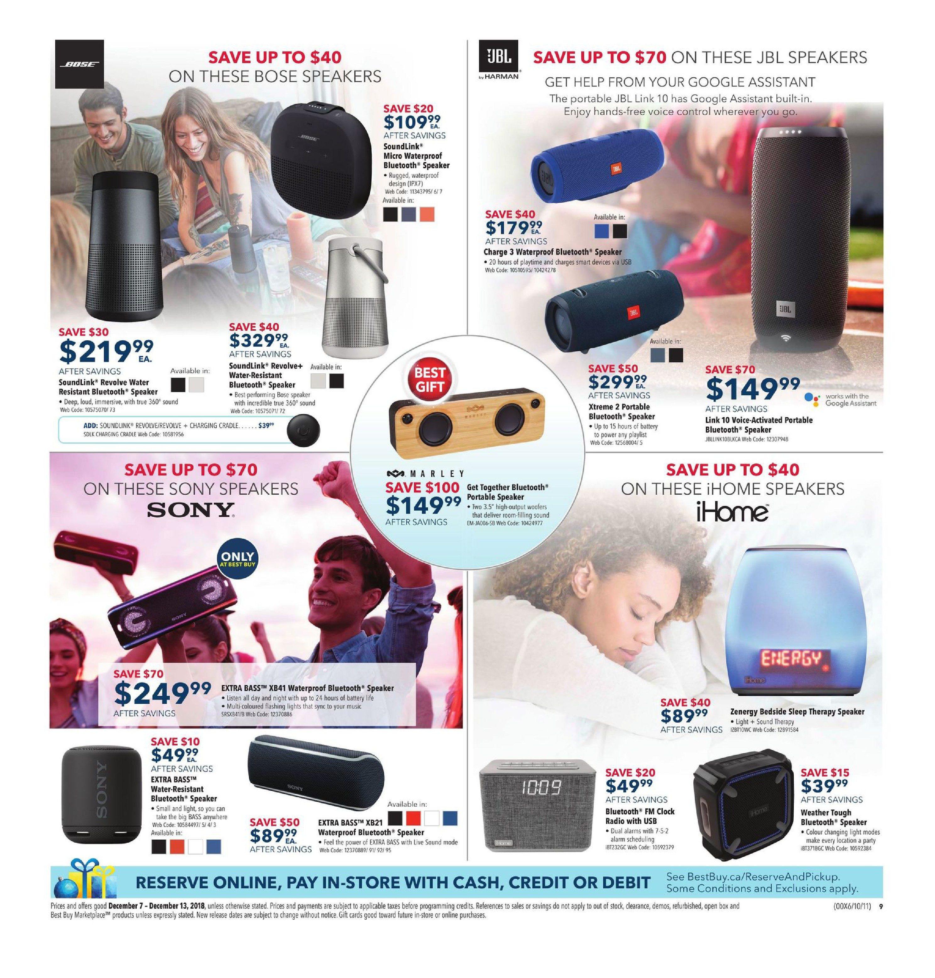 Best Buy Weekly Flyer - Weekly - Holiday Gift Sale - Dec 7