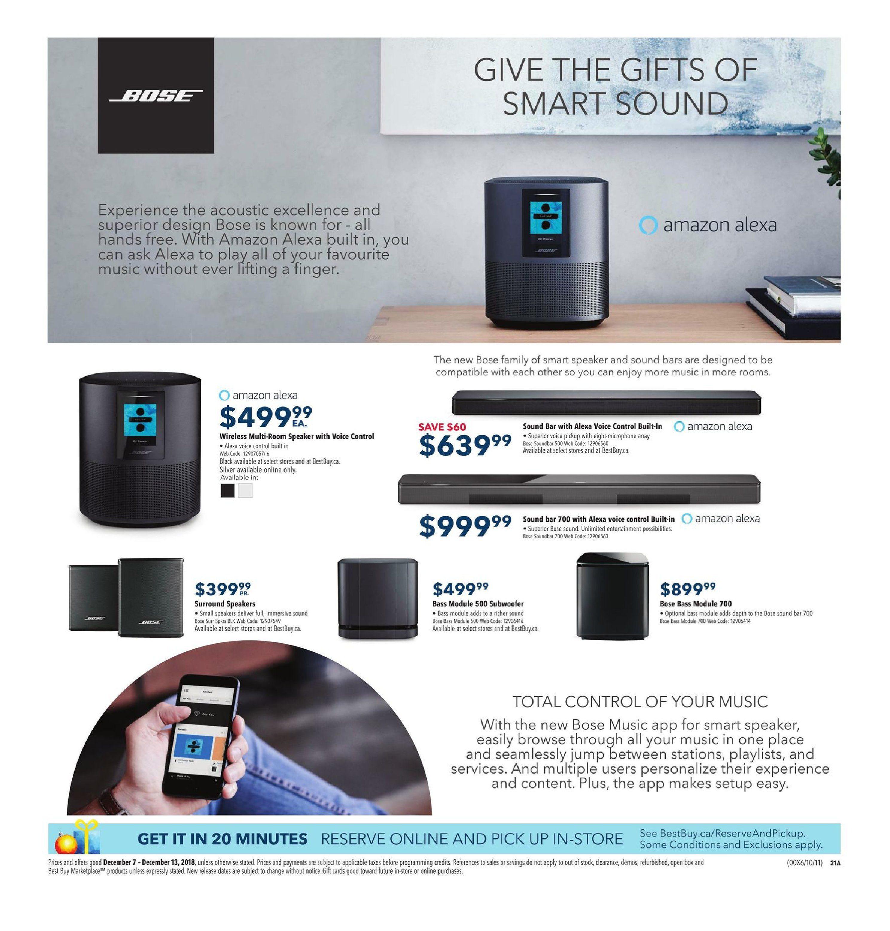 Best Buy Weekly Flyer - Weekly - Holiday Gift Sale - Dec 7 – 13