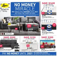 Leon's - Part of The Family - No Money Miracle Flyer