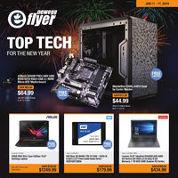 Newegg - Top Tech For The New Year Flyer
