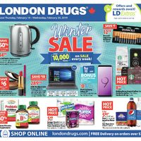 London Drugs - Winter Sale Flyer