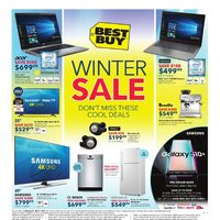 Best Buy - 2 Weeks of Savings - Winter Sale Flyer