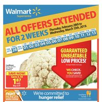 - Supercentre - All Offers Extended For 2 Weeks Flyer