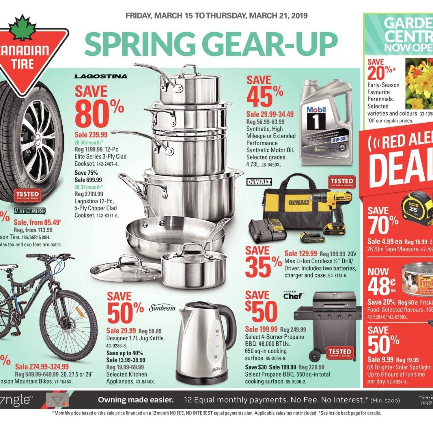 Canadian Tire Weekly Flyer - Weekly - Spring Gear-Up - Mar 15 – 21