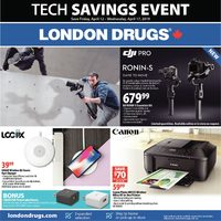 - Tech Savings Event Flyer