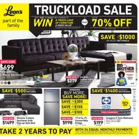 Leon's - Part of The Family - Truckload Sale Flyer