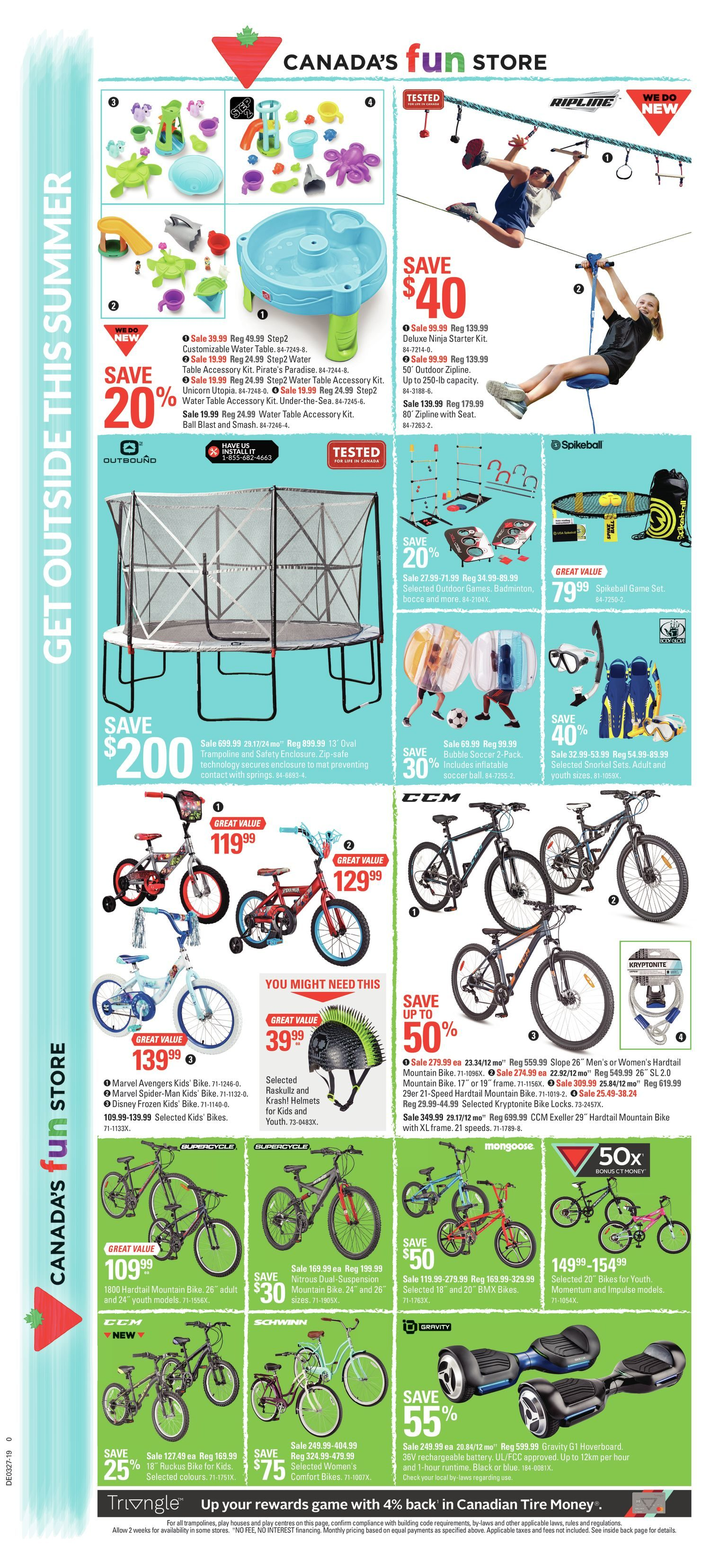 Canadian Tire Weekly Flyer - Weekly - Cheers Canada! - Jun