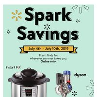 - Online Only - Spark Savings Flyer