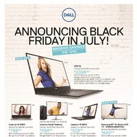 Dell - Announcing Black Friday In July! Flyer