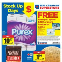 - Weekly - Stock Up Days Flyer