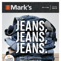 - 6 Days of Savings - Jean, Jeans, Jeans Flyer