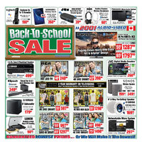 - Weekly - Back-To-School Sale Flyer