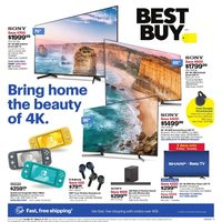 Best Buy - weekly - Bring Home The Beauty Of 4K Flyer
