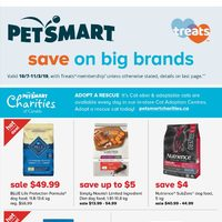 - Treats Membership Only - Save On Big Brands Flyer