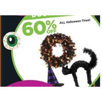 All Halloween Tinsel