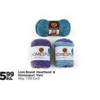 Lion Brand Heartland & Homespun Yarn