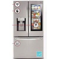LG30 Cu.Ft. Instaview Door-In-Door With Craft Ice Refrigerator