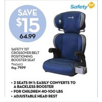 Safety 1st Crossover Belt Positioning Booster Seat
