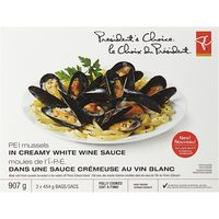 PC Blue Menu Wild Sea Scallops or PC Mussels in Sauce